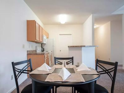 Photo for Beautiful, Quiet Apartment 20 Mins to Downtown