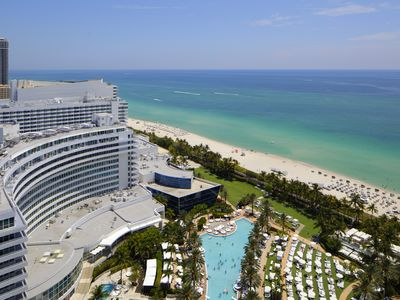 Photo for Fontainebleau Hotel Oceanview 24th Fl 1 Bdrm