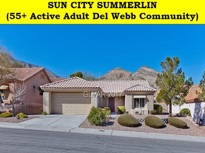 """Photo for Beautiful Sun City Summerlin """"Del Webb"""" 55+ Aged Restricted Community"""