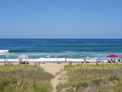Photo for Beachfront Home- Amazing Oceanfront Views! Sleeps 8! Oceanfront w hot tub!