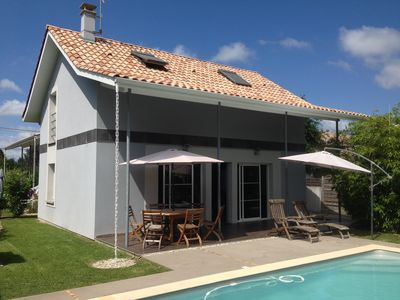 Photo for New House / Villa with swimming pool neer bay of Arcachon - La Teste-de-BuchHouse with character