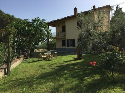 Photo for Casa di Vittoria immersed in the heart of the Tuscan countryside surrounded by olive groves