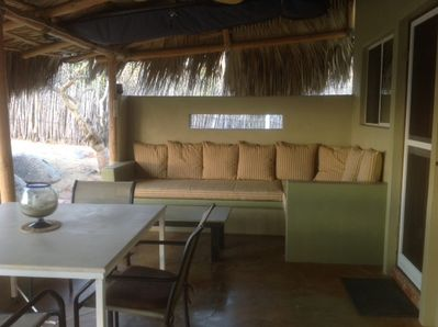 Casita outdoor couch / dining