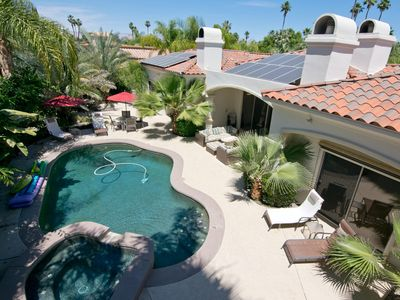 Very Private pool yard 2015 House is totally Solar Powered. No Electrical fees