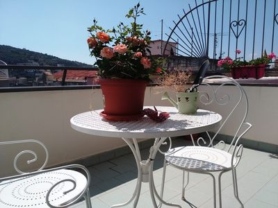 Photo for Theta apt room, living & terrace on Sorrento Coast (Vico Equense)