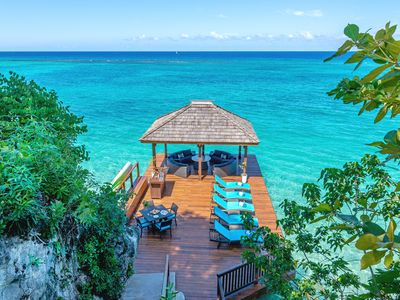 Photo for Scotch on the Rocks - Deluxe Waterfront Jamaican Villa - Fully Staffed
