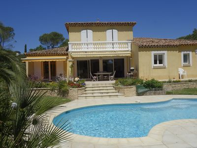 Photo for New villa with swimming pool between beaches and golf courses in Saint Raphael Valescure