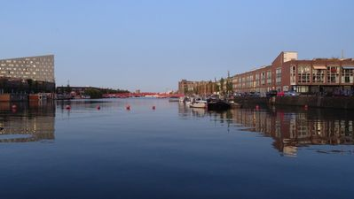 Photo for Luxorious apartment on the first floor with a view of the former harbour.