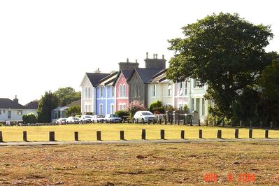 VIEW OF COTTAGES SIDE ON