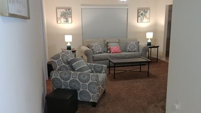Photo for Spacious, beautiful 1st floor Condo right off I-70 and near Mid Rivers Mall
