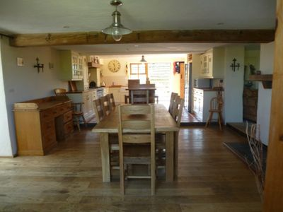 Photo for Family Barn, slps 10,  Falmouth/Helford Passage, gardens, parking,