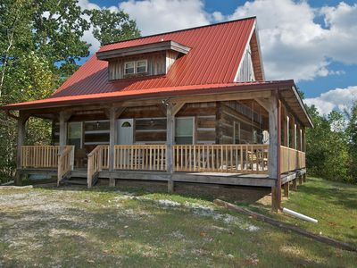 Photo for Dogwood Point Log Cabin