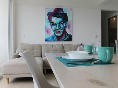 Photo for Amazing and Comfy apartment in Cancun with city views and Pool LIV503