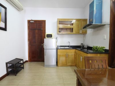 Photo for CHEAP 1 bedroom apt with balcony in heart of city