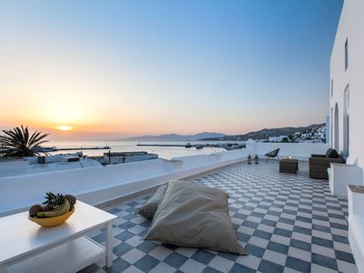 Photo for VILLA JORGINA 5 Bedrooms 5 Bathrooms, up to 14 Guests, private pool, situated in the Old Port of Mykonos, one of the town's most privileged spot