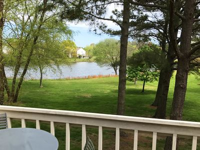 Photo for CLEAN AND BEAUTIFUL LAKE FRONT 2BR CONDO W/ POOL SLEEPS 6