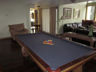Photo for SPACIOUS HOME IN PRIVATE MOUNTAIN SETTING - SLEEPS 10-12 - LOW PRICE