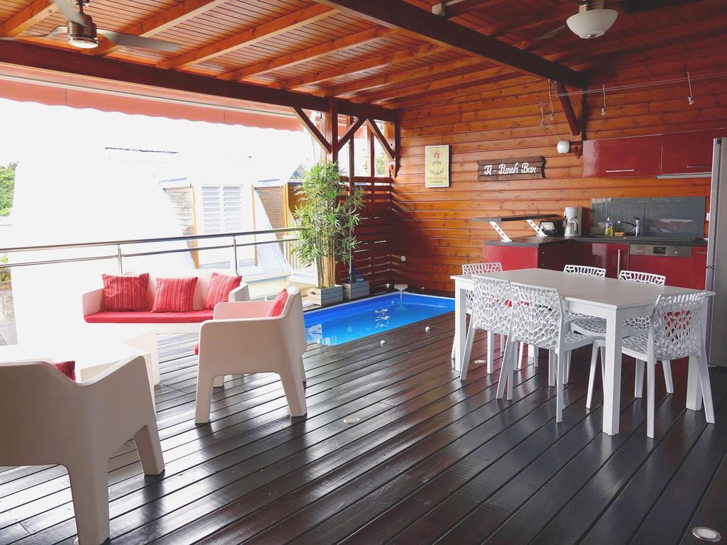 Luxury duplex mini pool roof terrace superb sea view - Mini pool terrasse ...