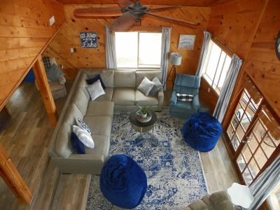 Photo for GORGEOUS OASIS IN THE PINES WITH LAKE VIEWS-SLEEPS  14 PETS WELCOME-