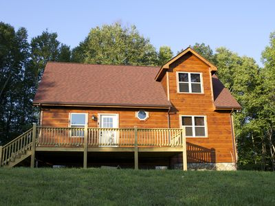 Photo for Secluded  Mountain Cabin With Common Area River Access and  WIFI