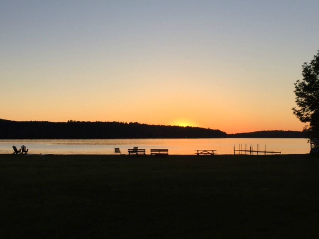 Enjoy our 400 ft private beach at lake willoughby cabin 4 for Lake willoughby cabins