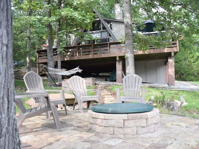 Photo for *New Listing* Charming Chalet on a small secluded lake in sought-after Innsbrook