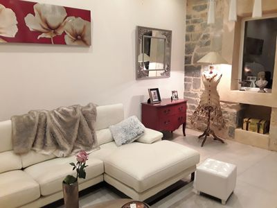 Photo for Beautiful T2 architect apartment in the historic center of Millau