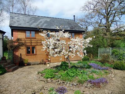 View of Cowslip Cottage from the courtyard