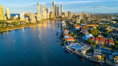 Photo for Luxurious Gold coast Waterfront Home with pool overlooking the Spectacular Views