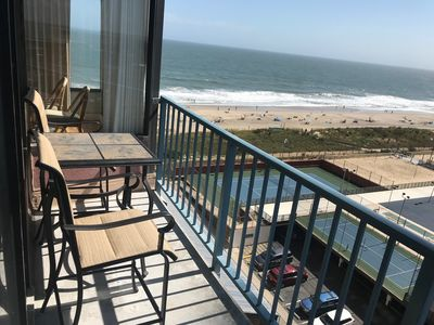 Photo for FREE DAILY ACTIVITIES!!! OCEAN & BAY VIEWS!!! 2 bedroom, 2 bath condo enjoy beautiful views of both ocean and bay.