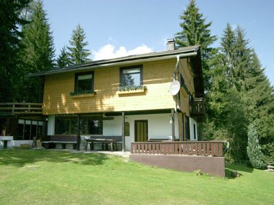 Photo for Large private chalet with garden at 1300m