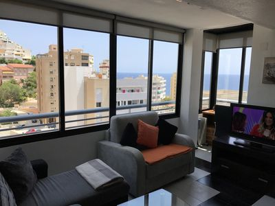 Photo for Penthouse in Cala de Benidorm at 50 meters from the beach