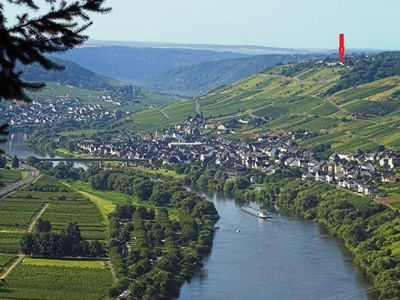 Photo for Apartment with garden and view of the Mosel