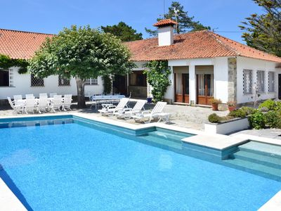 Photo for Villa for18pax, w/ pool, at a short distance from the beach, bars & restaurants