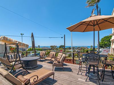 Photo for Stunning Ocean View Deck, Walk to Swami's & 101, Great Family Home!