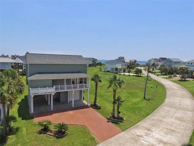 Photo for Beach side home with Gulf and Bay views within a block from the sand