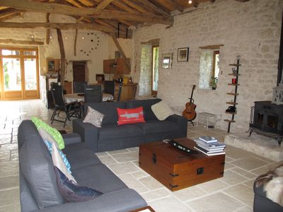 The interior living space is vast - there's plenty of room for everyone to relax