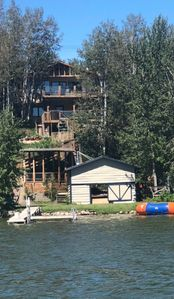 Photo for Lakefront cabin ideal for all seasons.