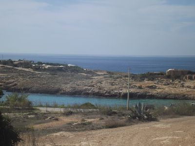 Photo for LAMPEDUSA HOUSE SEA VIEW