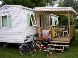 Photo for Camping Le Plein Air des Bories *** - Mobile home Titania 3 rooms 4/5 people