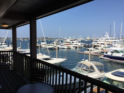 Photo for Wyndham Newport Onshore Resort #125 2nd Fl - Direct Harbor views over Yachts