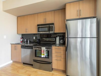 Photo for DOWNTOWN TORONTO LUXURY FULLY FURNISHED SUITE at MAPLE LEAF SQUARE CN TOWER ACC