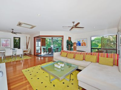 Photo for Private Tewantin hideaway, 73 Moorindil St Tewantin
