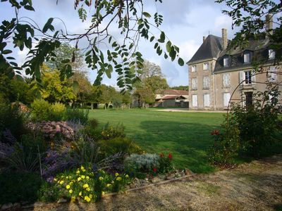 Photo for Quiet Gite In Château Grounds in Rural Charente, With Pool And Access To Park