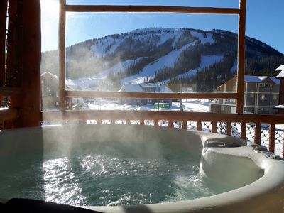 Photo for One Bedroom Ski in/Ski Out Condo at Apex Mountain