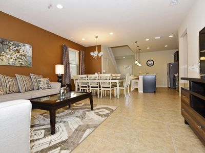Photo for GORGEOUS 7BD WINDSOR@WESTSIDE Hm w/Pool, Gated Community, Zero Entry Pool, Lazy River/Water Playground