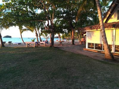 Photo for Have a relaxing vacation right on the beach enjoying the locations amenities