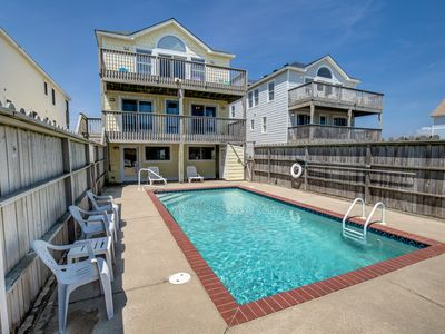 Photo for Dream Weaver II | Oceanfront | Dog Friendly, Private Pool, Hot Tub