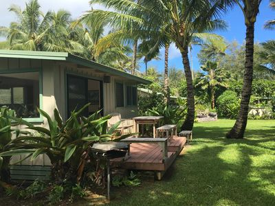 Photo for Your Private Beachfront Cottage In Paradise! Cottage #1 Plumeria TVNC #1045