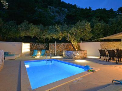 Photo for 26°C Heated Pool in Newly built house close to the beach.